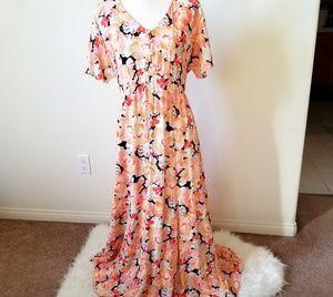 ASOS Maternity Floral Maxi Dress